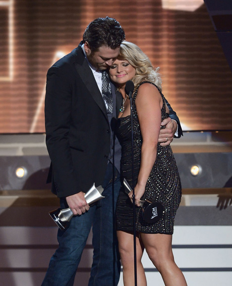 Blake Shelton and Miranda Lambert Get Cozy Over the Weekend — What Divorce Rumors?!