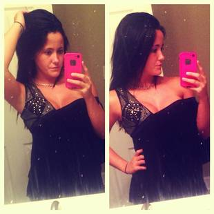 Jenelle Evans Shows Off Major Cleavage in New Party Dress (PHOTO)