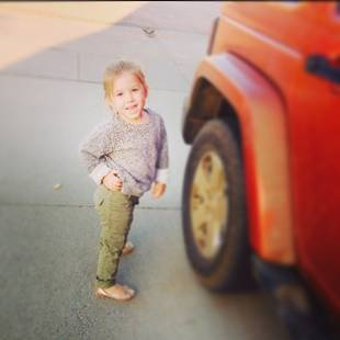 Chelsea Houska's Daughter Aubree Rocks Adorable School Style (PHOTO)