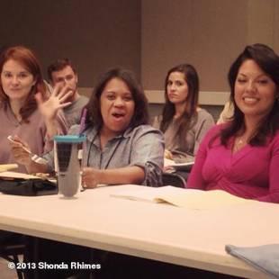 Grey's Anatomy Season 10: Shonda Rhimes Reveals Sneak Peek at Cast Table Read (PHOTO)