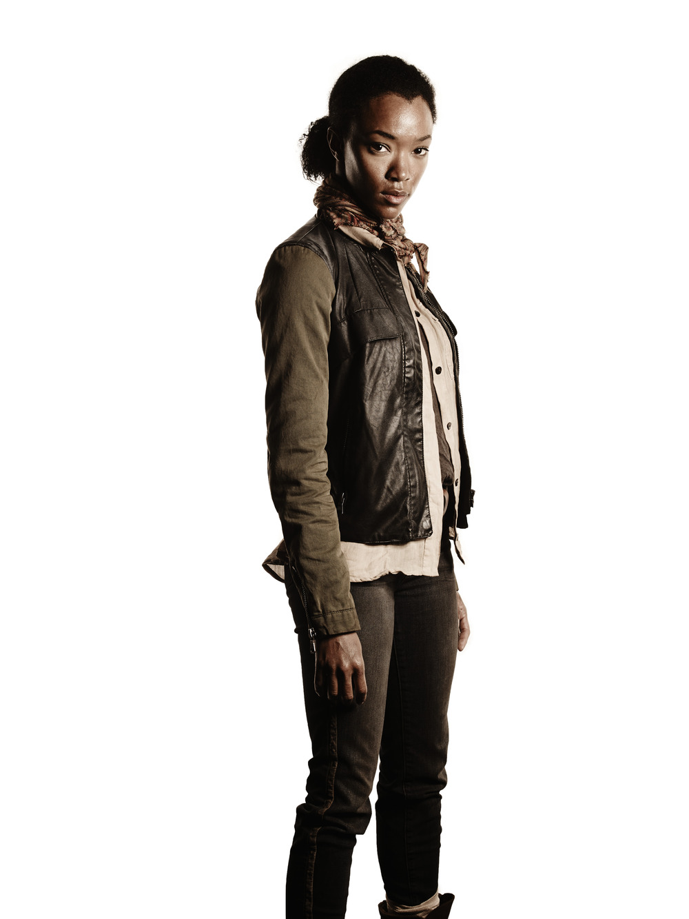 The Walking Dead's Sonequa Martin-Green Says Chad Coleman Is Like Her Brother