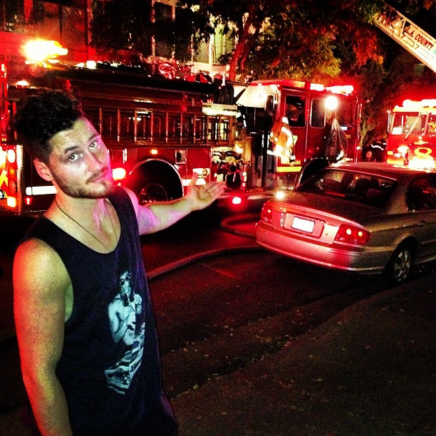 "Val Chmerkovskiy's House Nearly Destroyed in Fire: ""I Am Now Homeless"" (VIDEO)"