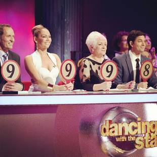 Kym Johnson as Dancing With the Stars Australia Judge: Check Her Big Debut! (VIDEO)