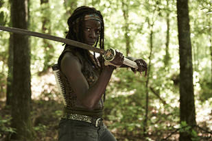 The Walking Dead Season 4: Will Sparks Fly Between Bob Stookey and Michonne?
