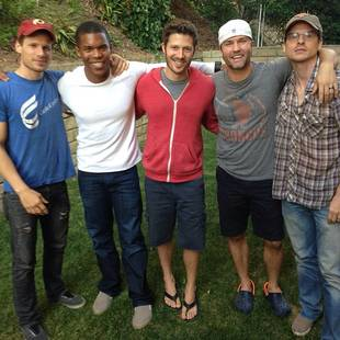 Grey's Anatomy's Gaius Charles Reunites With Friday Night Lights Cast (PHOTO)