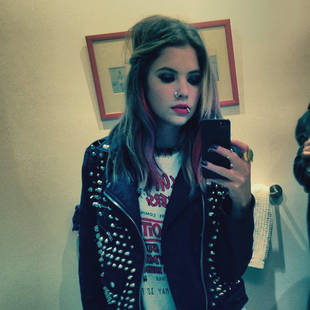 Ashley Benson Is a Pretty Little Punk Rocker For Halloween! (PHOTO)