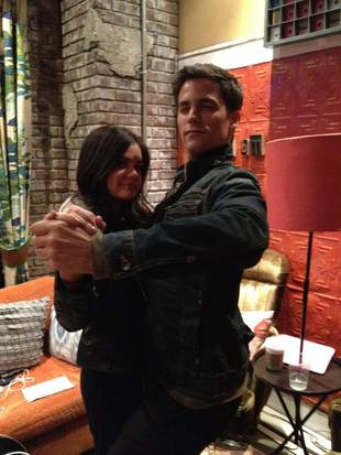 Pretty Little Liars Spoilers: Aria and Noel Reunite in Rosewood (PHOTO)
