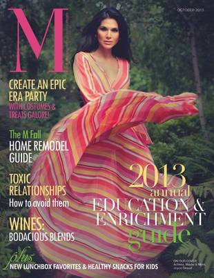 Joyce Giraud Goes Glam on the Cover of M Magazine (PHOTO)