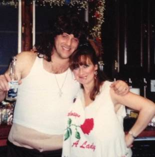Caroline Manzo and Chris Laurita: Retro Halloween Throwback Pic