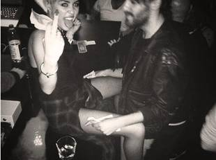 Miley Cyrus Gets Flirty With Pal Cheyne Thomas in Racy New Pic (PHOTO)