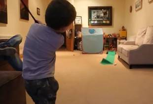 3-Year-Old Boy Easily Chipping In Golf Balls Will Blow You Away (VIDEO)