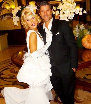 Gretchen Rossi and Slade Smiley Show Off Gatsby-Themed Halloween Costumes (PHOTO)