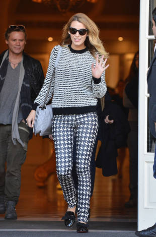 Blake Lively Mixes Her Prints in Paris — Hot or Not?
