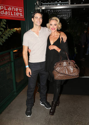 Dancing With the Stars' Peta Murgatroyd and Brant Daugherty Cozy Up For Date Night — Exclusive