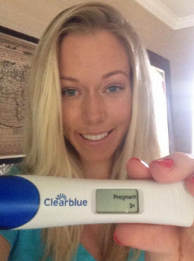Proof Kendra Wilkinson's Expecting: See Her Positive Pregnancy Test