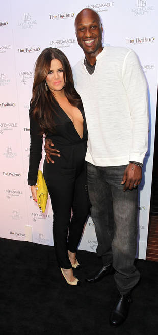 "Lamar Odom Says He and ""Beautiful Wife"" Khloe Kardashian Are ""Unbreakable"""