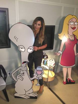 Kim Kardashian Previews Her Appearance on FOX's American Dad (PHOTO)