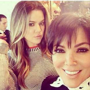 Khloe and Kris Pose Together in the Midst of Mutual Marital Drama