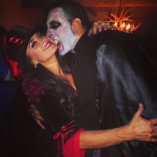 Kyle Richards and Mauricio Show Off Sexy Halloween Costumes (PHOTO)