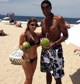Larsa Pippen and Hubby Show Off Killer Beach Bodies in Brazil (PHOTO)