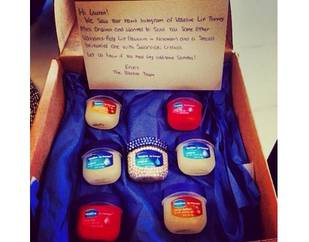 WTF Gift: Lauren Manzo Gets Bejeweled Vaseline Jar (PHOTO)