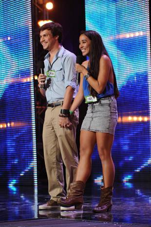 "X Factor 2013: Alex & Sierra ""Wouldn't Have Moved on Without Each Other"" Exclusive!"