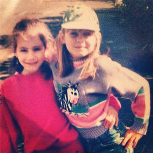 Pretty Little Liars' Troian Bellisario Tweets Adorable Childhood Photo — With Ashley Olsen?