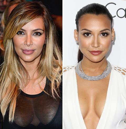 5 Reasons Kim Kardashian and Naya Rivera Are Basically the Same Person
