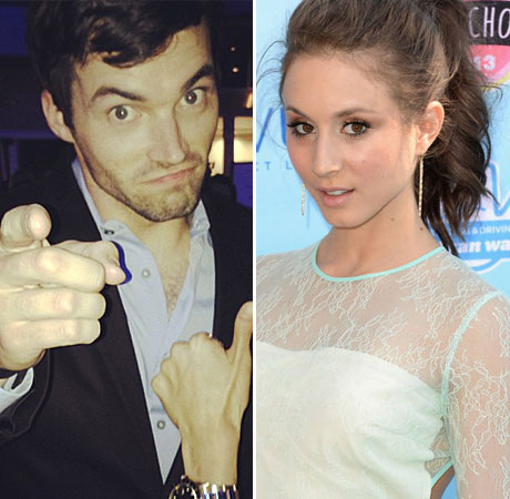 "Pretty Little Liars Star Troian Bellisario's First Impression of Ian Harding? ""He Annoyed Me"""