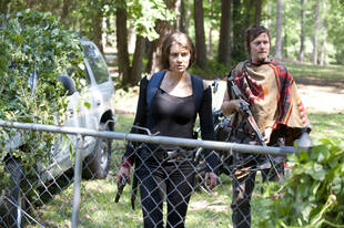 The Walking Dead Season 4: Is Maggie Pregnant?