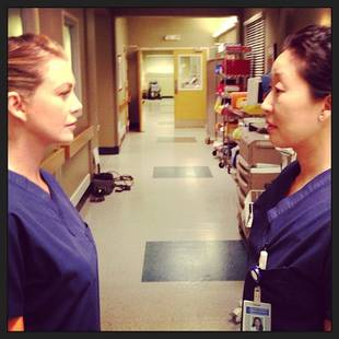 "Grey's Anatomy Season 10 Spoilers: Meredith and Cristina Are ""Breaking Up"" to Make Exit Easier"