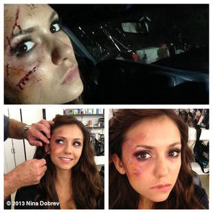 Nina Dobrev and Steven R. McQueen Get Bloody in Behind-the-Scenes Throwback Pics!