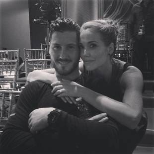 Dancing With the Stars 2013: Elizabeth Berkley and Val Chmerkovskiy Plan Saved by the Bell and Showgirls Routines