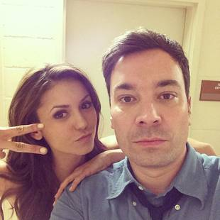 Nina Dobrev Performs With Jimmy Fallon in Atlanta, Snaps Adorable Selfies (PHOTOS)