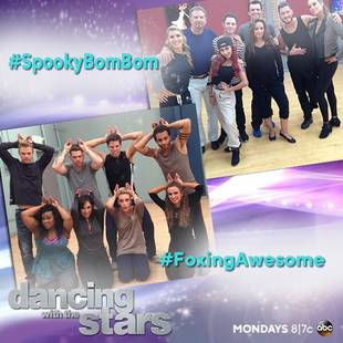 "Dancing With the Stars Week 7 Team Dance Details: ""What Does the Fox Say?"" Featured"