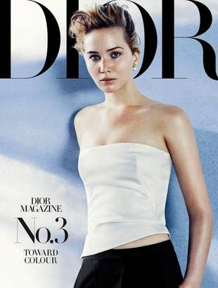 Jennifer Lawrence Is Effortlessly Glam on Dior Magazine Cover (PHOTO)