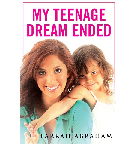 Farrah Abraham Wants to Change the Cover of Her Memoir, My Teenage Dream Ended