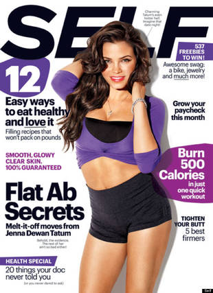 Jenna Dewan Tatum Says Hubby Channing Loves Her New Post-Baby Curves