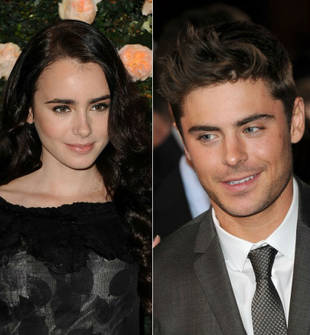 Zac Efron Goes on Movie Date With Rumored Ex Lily Collins — Are They Back On?