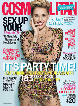 Miley Cyrus Covers Cosmo: I'm Not Dwelling Over Liam Hemsworth Breakup