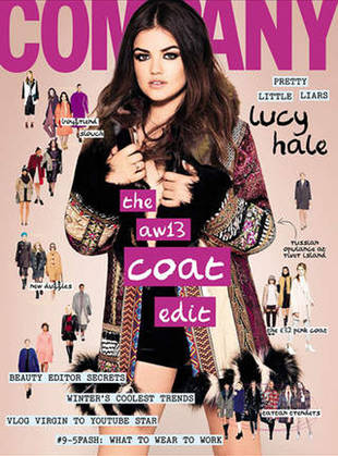 Pretty Little Liars' Lucy Hale Covers Company Magazine, Opens Up About Body Image (PHOTO)