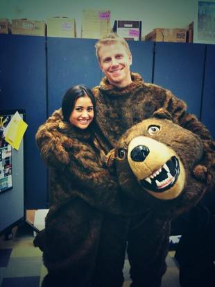 Sean Lowe and Catherine Giudici Pose in Bear Costumes: What the Heck?