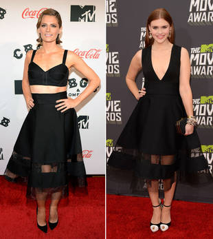 Stana Katic vs. Holland Roden in Sexy Donna Karan — Who Wore It Best?
