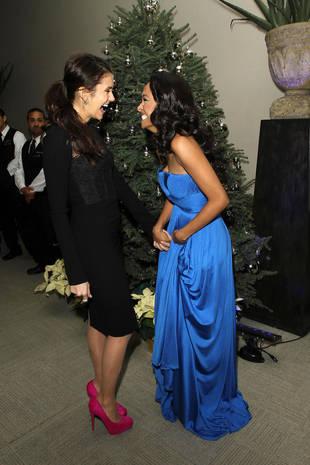 Vampire Diaries Stars Nina Dobrev and Kat Graham Reveal Shocking Celebrity Crushes