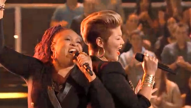 "The Voice 2013 Battle Rounds — Donna Allen and Tessanne Chin Sing ""Next to Me"" (VIDEO)"