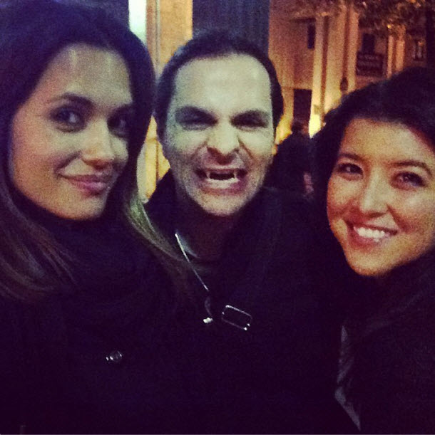 Torrey DeVitto Gets Close to a Vampire — But There's a Catch (PHOTO)