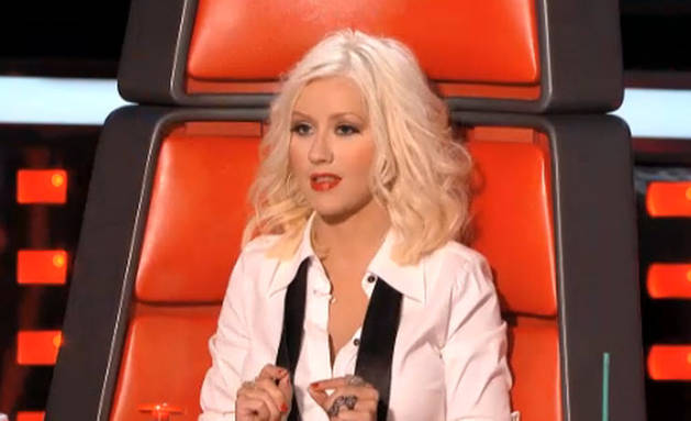 The Voice 2013: Christina Aguilera Gets Cocky During the Knockout Rounds (VIDEO)