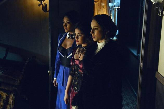 "Pretty Little Liars Quotes: Season 4 Halloween Special — ""Do You Always Dress Like Prom Night on the Titanic?"""