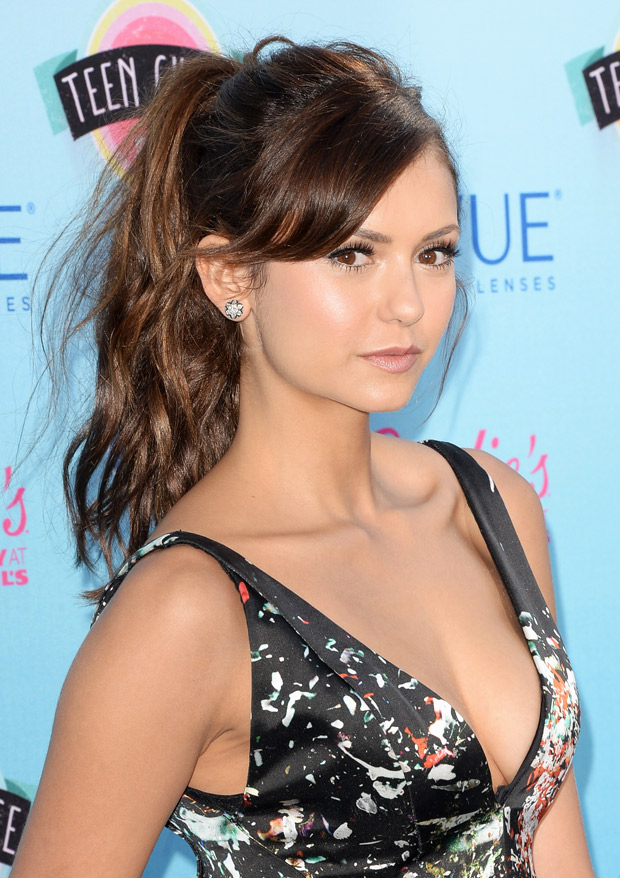 "Nina Dobrev Takes a Tumble in ""Wipe Out"" Photo — What Happened to Her?!"
