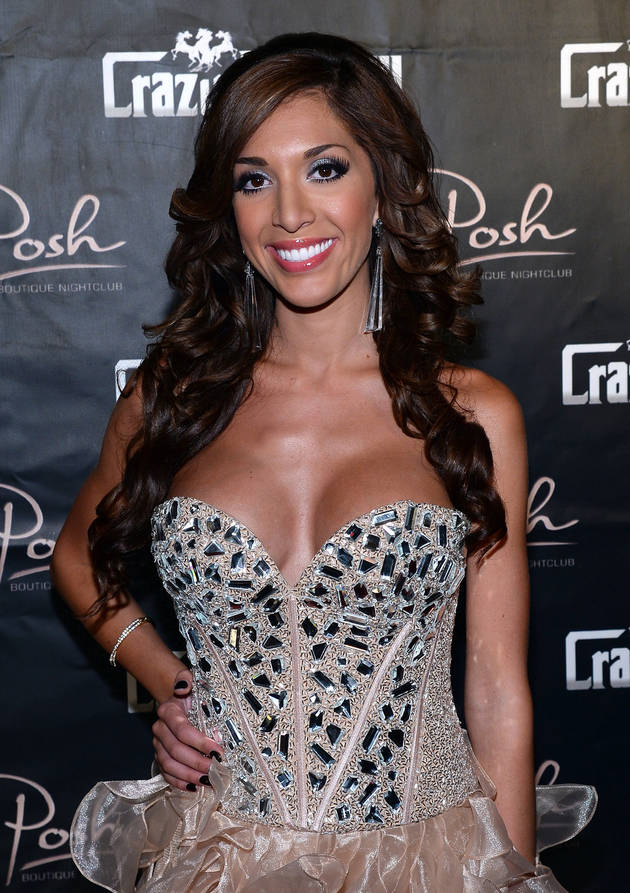 "Farrah Abraham Meeting the ""Older Version"" of Herself in New York City"